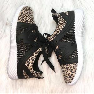 Shoes - Leopard Sneakers